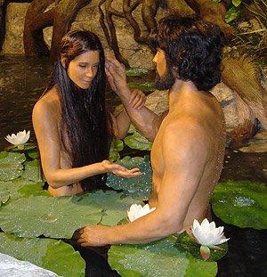 Adam et Eve au Musée Créationiste