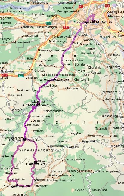 Bern-Schwarzenburg-Guggisberg