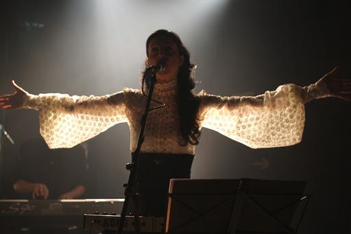 La chanteuse de ce soir-là