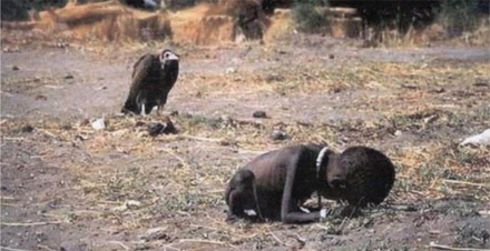 kevin carter, child and vulture