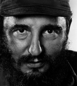 Yousuf Karsh - Fidel Castro