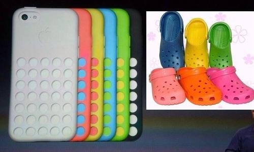 crocs vs iphone5c