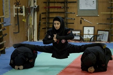 iranienne ninja