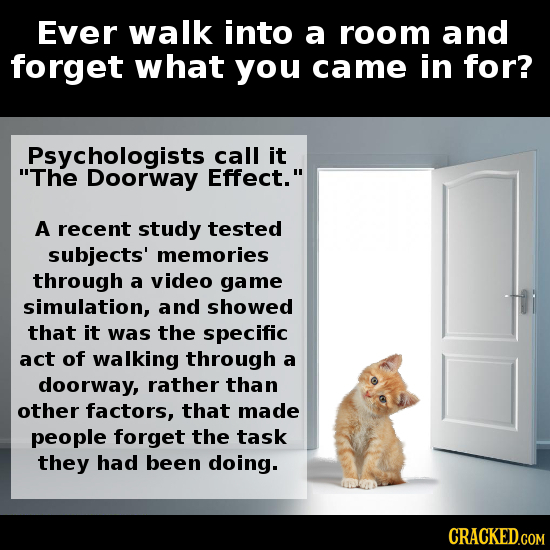 doorway effect